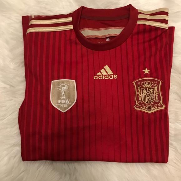 f86e934ba93 adidas Shirts   Spain World Cup Jersey 2010   Poshmark